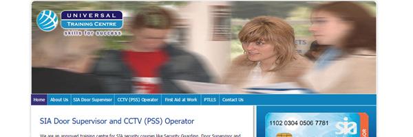 Website Design for Security-Training-Centre