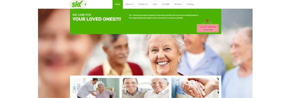 Website Design for Home Care People